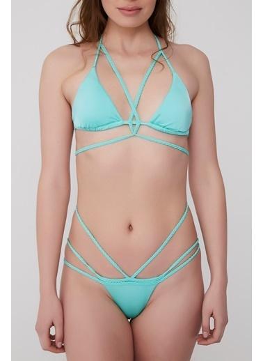 Plumeria Swimwear Bikini Mavi